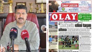 Şanlıurfa Olay Gazetesi Sadece Dijital Olarak Yayın Yapma kararı Aldı