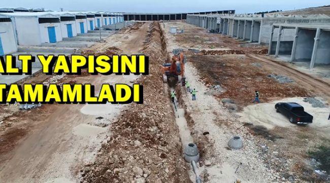 Urfa'da Küçük Sanayi Sitelerinin Alt Yapısını Yapıldı
