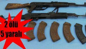 Birecik'te silahlı kavga: 2 ölü 5 yaralı