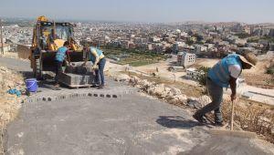 Eyyübiye Belediyesi, Yol Yapımını Aralıksız Sürdürüyor