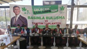 Gelecek Partisi Şanlıurfa İl Yönetimi Basınla Buluştu