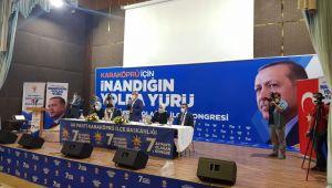 Ak Parti Karaköprü'de yola Ağan ile 'devam' dedi