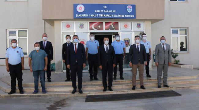 Başsavcı Öztoprak cezaevi personeli ziyaret etti
