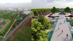 Eyyübiye, Bölgenin En Büyük Millet Bahçesine Kavuşuyor
