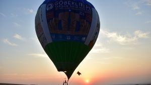 Göbeklitepe'de Balon Turizmi Başlıyor