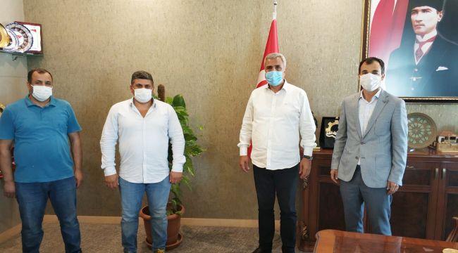 Medikalciler Taleplerini Başkan Peltek'e İletti