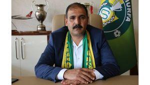 Urfaspor Başkanı Yetim oldu
