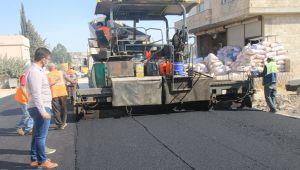 Büyükşehir'in Sıcak Asfalt Hizmeti İlçelere Taşındı