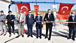 Harran Üniversitesi'nde Zeytin, Nar ve Fıstık Kabuğu Atıklarından Hayvan Yemi Üretim Tesisi Hizmete Girdi