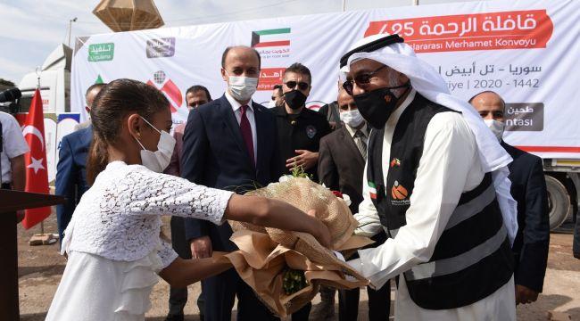 Kuveytli Hayırseverler 5 Tır İnsani Yardım Bağışladı