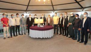 AGD Şanlıurfa Şubesi, Büyükşehir Belediye Başkanı'nı ziyaret etti