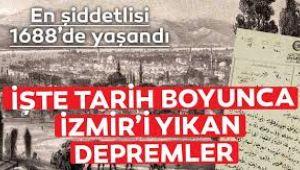 Tarihte İzmir Depremleri