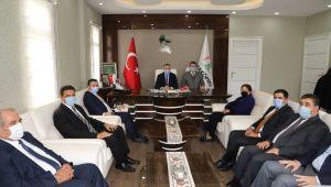 Yerel Yönetimler Başkan Yardımcısı Yanılmaz'dan Başkan Baydilli'ye Ziyaret