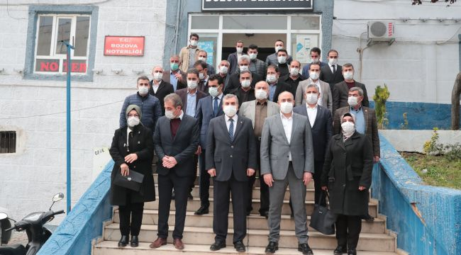Büyükşehir Bozova'ya Kütüphane Yaptırıyor