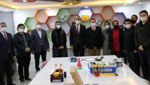 Vali Erin, Viranşehir STEM Akademisini Ziyaret Etti