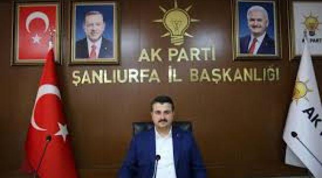 AK Parti Şanlıurfa il başkanı Bahattin Yıldız: Aday Değilim