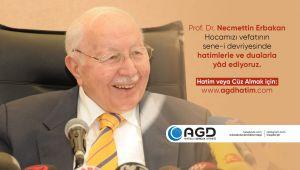 AGD, Erbakan Hoca'yı Hatim Ve Dualarla Anıyor