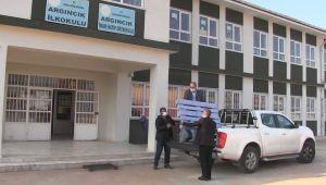 Atıl Paletler Kitaplığa Dönüştü, Köy Okuluna Kazandırıldı