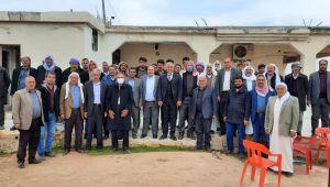 3 Yıllık Husumet Başkan Peltek'in Girişimleriyle Barışla Son Buldu
