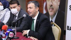 AK Parti İl Başkanı KIRIKÇI İlk Basın Toplantısını Gerçekleştirdi