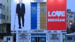 AK Parti İl Başkanlığından Erdoğan'a Büyük Destek