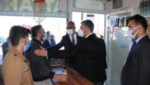 AK Parti İl Teşkilatı Tam Kadro Sahada