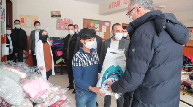 Eyyübiye Belediyesi, Dezavantajlı Öğrencileri Unutmadı (video ve fotoğraflı)