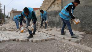 Haliliye Belediyesinden 3 Mahallede Üst Yapı Çalışması