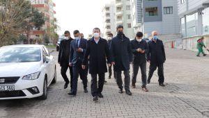 Başkan Baydilli Akbayır Mahallesini İnceledi