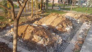 Eyyübiye Belediyesi 'Muhtar Evi'yapım Çalışmalarını Sürdürüyor