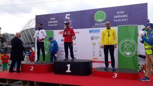 Harran Üniversitesi Öğrencisi,Balkan Şampiyonu Oldu