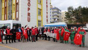 Karaköprü'de 11 Nisan'a Özel Bando Gösterisi Ve Kortej Yürüyüşü