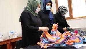 Karaköprü'de Kadınlar Kurslarda Meslek Ediniyor