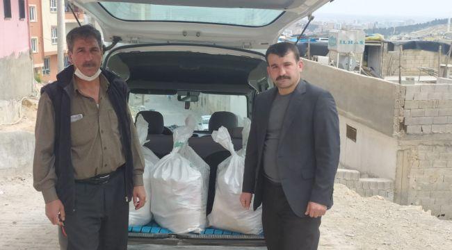 Mersavi Aşireti Derneği'nden İhtiyaç sahiplerine gıda yardımı