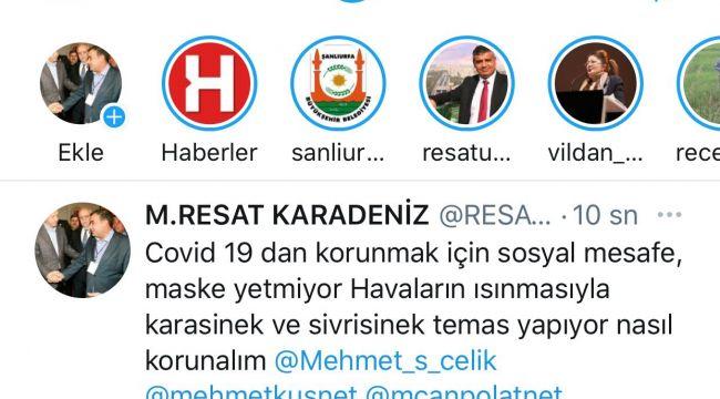 Başkan Karadeniz: Covid-19 Virüsü Sineklerden Bulaşıyor