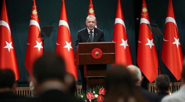 Cumhurbaşkanı Erdoğan destek verilecek iş gruplarını açıkladı..