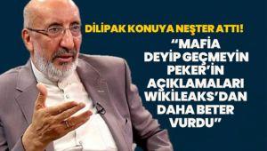 Dilipak: Mafia deyip geçmeyin, Peker'in açıklamaları Wikileaks'dan daha beter