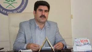 Eğitim-Bir-Sen Şube başkanı İbrahim Coşkun'un 1 Mayıs bildirisi
