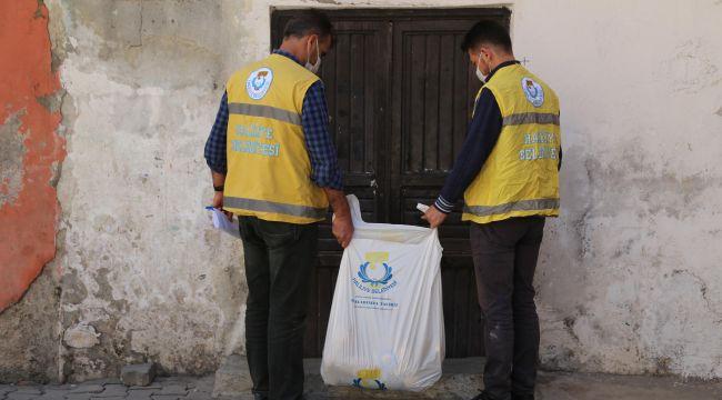 Haliliye Belediyesi, Ramazan Ayında Kapıları Tek Tek Çaldı