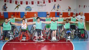 Şanlıurfa Büyükşehir Belediyesi tekerlekli Basketbol Takımı Şampiyonluk Yolunda