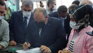 Bakan Varank Şanlıurfa'da Toplu Açılış Ve Temel Atma Törenine Katıldı