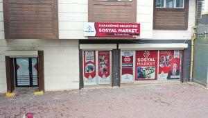 """Başkan Baydilli: """"Tek Yardım Merciimiz Sosyal Markettir"""""""