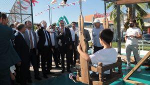Eyyübiye Belediyesinden İlçeye Yeni Eserler (video ve fotoğraflı)