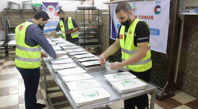 Filistin-Gazze'ye 75 Kişilik Sünnet Yemeği