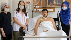 Şanlıurfa Eğitim ve Araştırma hastanesinde başarılı müdahale, kalbi duran hasta hayata döndü
