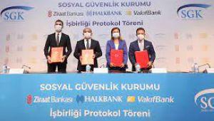 SGK İle Kamu Bankaları Arasında Kredi İş Birliği Protokolü İmzalandı