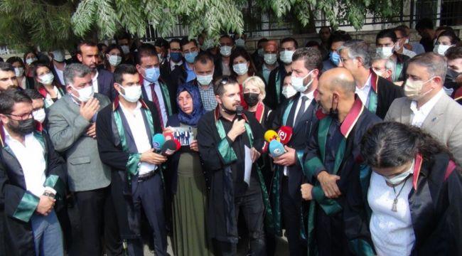 200 Avukat Şenyaşar Ailesi İçin Adalet Nöbetine Katıldı