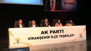 Başkan Kırıkçı ve Teşkilatı Viranşehir'e çıkarma yaptı (videolu-fotoğraflı)
