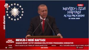 Diyanet'e Sert Külliye'de Mevlid-İ Nebi Haftası Programı Eleştirisi!