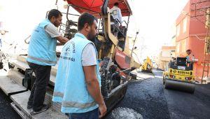 Eyyübiye Belediyesi Asfalt Atağını Sürdürüyor